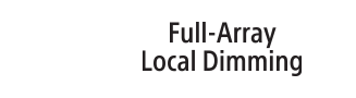 Full Array Local Dimming logo