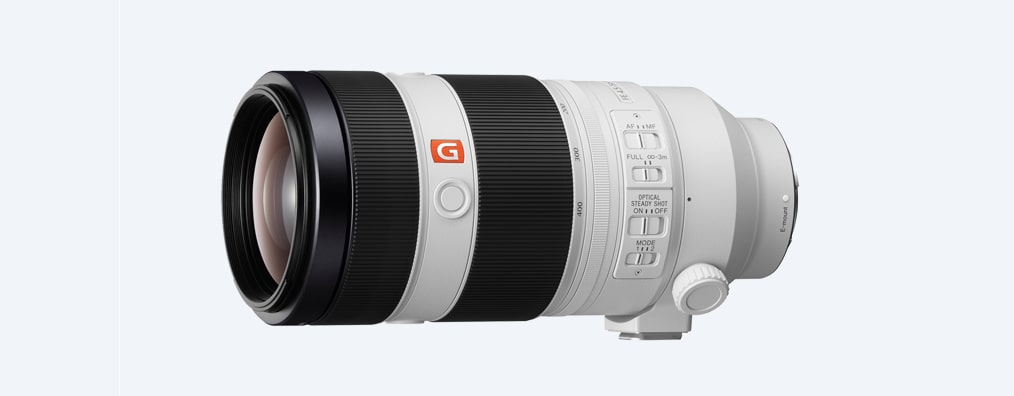 Images of FE 100-400mm G Master super-telephoto zoom lens