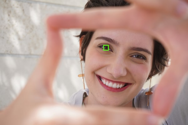 Image of Real-time Eye AF for human