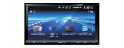 "Images of 17.65 cm (6.95"") LCD DVD Receiver with MirrorLink"
