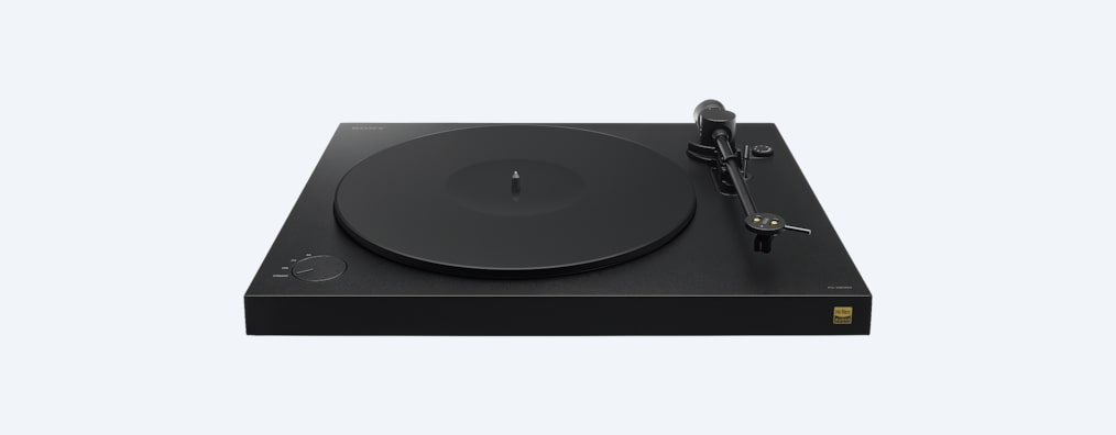 Turntable for playing vinyl and recording in High-Resolution