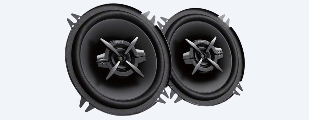 "Images of 13cm (5.1"") 3-Way Coaxial Speakers"