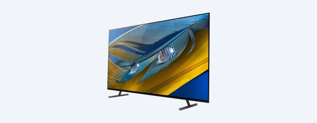 A80J BRAVIA XR TV angled shot