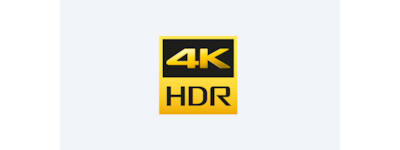 4K High Dynamic Range logo