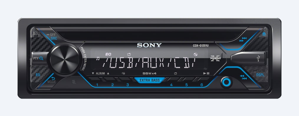 Images of CDX-G1200U CD Receiver