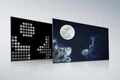 Conventional Full Array LED back panel and screen